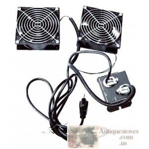 2 fans with thermodisc