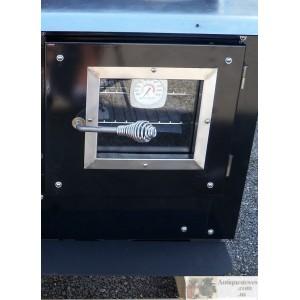 Kitchen Queen Oven View Door blk