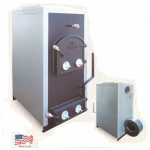 Ecomiser  Air Furnace - Burns Wood or Coal
