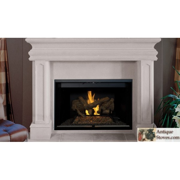 Craftsman 42 wood burning fireplace antique stoves for Craftsman gas fireplace