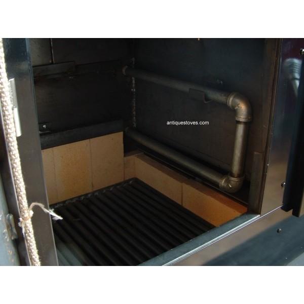 ... Kitchen Queen fire box ... - Kitchen Queen, Wood Cook Stove